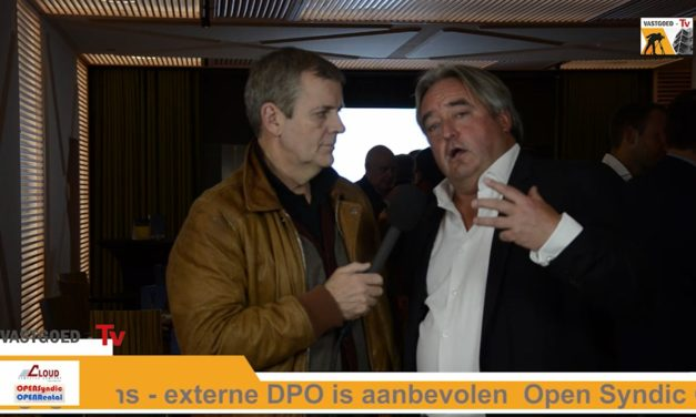 Marc Van De Vyver bij Open Syndic Café over GDPR