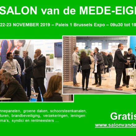 partner BRUSSEL – SALON MEDE-EIGENDOM