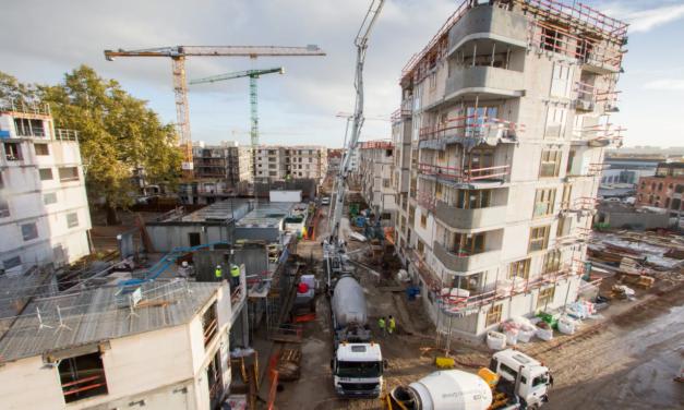 LAKEN Tivoli – timelaps bouw