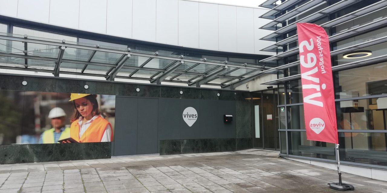 VIVES Hogeschool campus station gastlocatie in Oostende