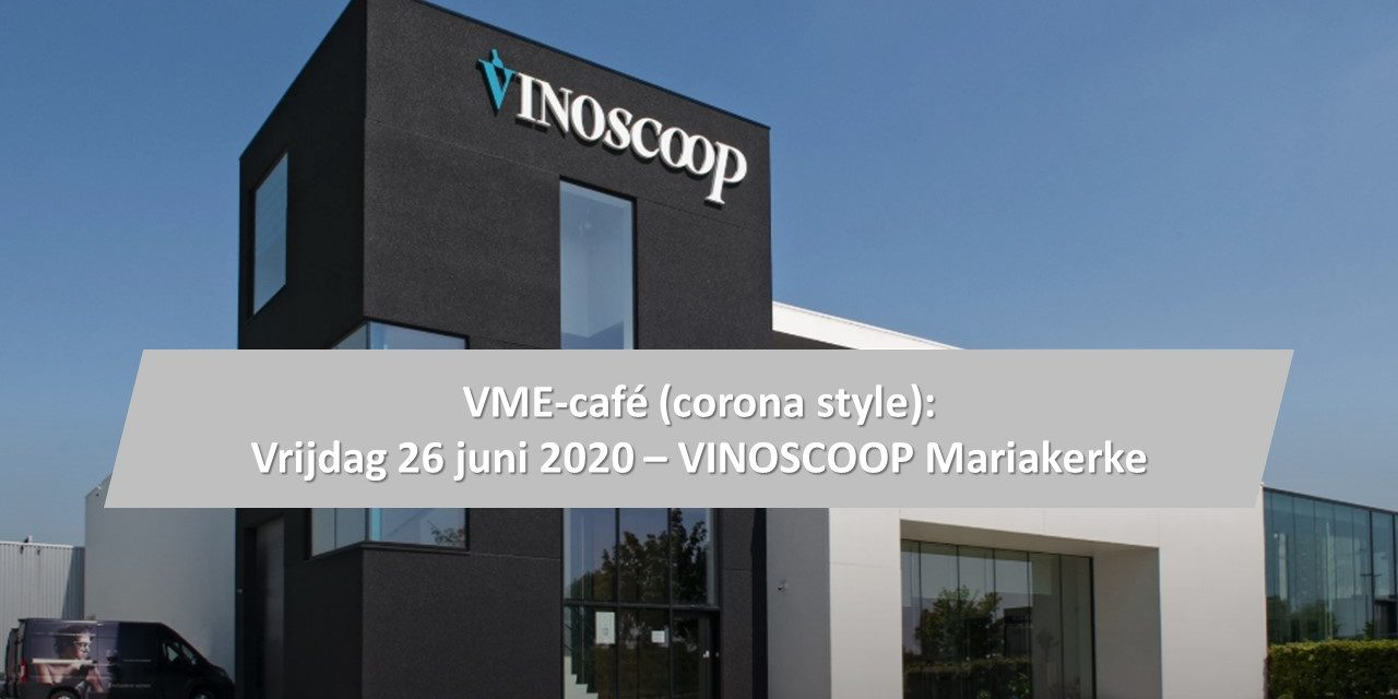 VME-CAFÉ (CORONA STYLE) GENT OP 26 JUNI IN MARIAKERKE