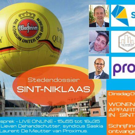 partner VME café LIVE online – SINT-NIKLAAS
